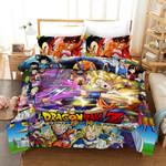 3D Dragon Ball Poster Duvet Cover Bedding Set