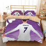 Cristiano Ronaldo #2 Duvet Cover Bedding Set