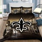 New Orleans Saints Customize Duvet Cover Bedding Set
