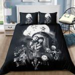 The Nightmare Before Christmas Microfiber Custom Bedding Set (Duvet Cover &Amp; Pillowcases)