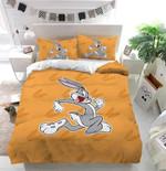 Running Bugs Bunny Custom Bedding Set Duvet Cover
