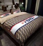 Fendi Custom #3 Duvet Cover Bedding Set