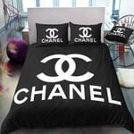 Cc3 Coco Chanel Custom Bedding Set (Duvet Cover &Amp; Pillowcases)