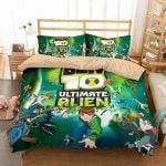 Ben 10 Ultimate Alien #2 Duvet Cover Bedding Set