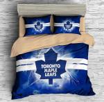 3d Customize Toronto Maple Leafs Bedding Set Duvet Cover