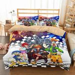 3d Customize Kingdom Hearts Bedding Set Duvet Cover Set Bedroom Set Bedlinen