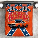 Dukes Of Hazzard Advevture TV Series Duvet Cover Bedding Set