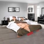 Famous Person Hunter Hayes V 3d Customized Duvet Cover Bedroom Sets Bedding Sets
