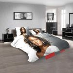 Musical Artists '80s Whitney Houston 2n 3d Customized Duvet Cover Bedroom Sets Bedding Sets