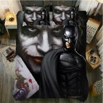 3D Batman & Joker Duvet Cover Bedding Set