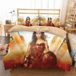 3D Printed Wonder Woman Duvet Cover Bedding Set
