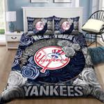 New York Yankees Customize Duvet Cover Bedding Set