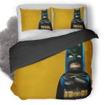 Lego Batman Superhero Duvet Cover Bedding Set