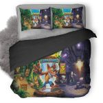 Crash Bandicoot N Sane Trilogy Duvet Cover Bedding Set