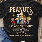Snoopy Peanuts 70th Anniversary T-shirt