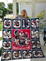 Houston Texans All Season Plus Size Quilt Blanket