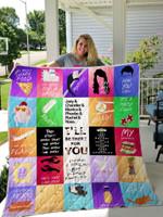 Friends Tv Series For Fans All Season Plus Size Quilt Blanket