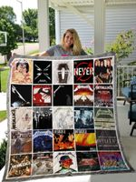 Metallica Albums Cover Poster Quilt Blanket Ver 16