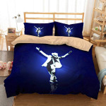 Michale Jackson Bedding Set (Duvet Cover & Pillow Cases)