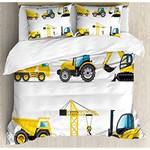 Construction Truck Bedding Set (Duvet Cover & Pillow Cases)
