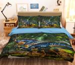 Blue Dragon Bedding Set (Duvet Cover & Pillow Cases)