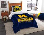 Michigan Wolverines Bedding Set (Duvet Cover & Pillow Cases)