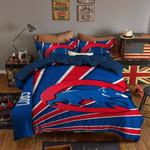 Chicago Cubs Bedding Set Sleepy (Duvet Cover & Pillow Cases)