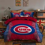 Chicago Cubs Bedding Set Sleepy (Duvet Cover & Pillow Cases)