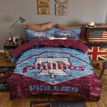 Philadelphia Phillies Bedding Set Sleepy (Duvet Cover & Pillow Cases)