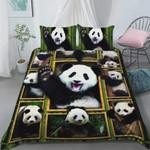 Cute Panda Bedding Set (Duvet Cover & Pillow Cases)