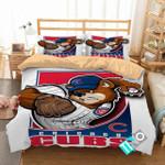 Mlb Chicago Cubs 3 Logo 3d Duvet Cover Bedding Sets