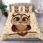 Cute Owl Bedding Set (Duvet Cover & Pillow Cases)