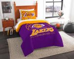 Los Angeles Lakers Bedding Set (Duvet Cover & Pillow Cases)