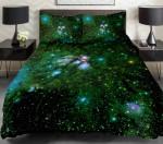 Black Lime Green Duvet Cover Bedding Set