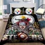 Pittsburgh Steelers Pennywise Bedding Set (Duvet Cover & Pillow Cases)