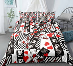 Betty Boop Pattern Bedding Set (Duvet Cover & Pillow Cases)