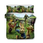 3d Design Peter Rabbit Bedding Set (Duvet Cover & Pillow Cases)