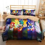3d Sonic The Hedgehog Duvet Cover Bedding Set