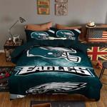 Philadelphia Eagles Bedding Set Sleepy Halloween (Duvet Cover & Pillow Cases)