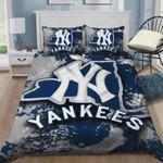 New York Yankees B0510219 Bedding Set (Duvet Cover & Pillow Cases)