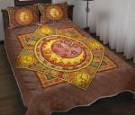 Hippie Sun Or Moon Bedding Set (Duvet Cover & Pillow Cases)