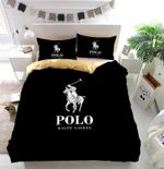 Ralph Lauren Polo Logo Duvet Cover Bedding Set