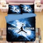 3d Nba Michael Jordan 23 Basketball Duvet Cover Bedding Set For Fans