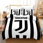 Juventus Soccer Club 3d Logo Duvet Cover Bedding Set