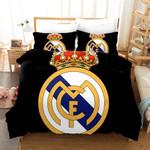 Real Madrid Logo 3d Printed Duvet Cover Bedding Set
