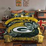 Green Bay Packers Bedding Set (Duvet Cover & Pillow Cases)