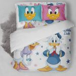Donald And Daisy Duck Bedding Set (Duvet Cover & Pillow Cases)