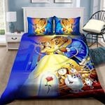 Beauty And The Beast Bedding Set Sleepy (Duvet Cover & Pillow Cases)
