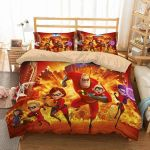 3d Printed The Incredibles Family Bedding Set  (Duvet Cover & Pillow Cases)