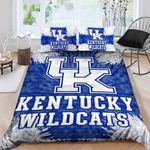 Kentucky Wildcats Logo 3d Printed Bedding Set (Duvet Cover & Pillow Cases)
